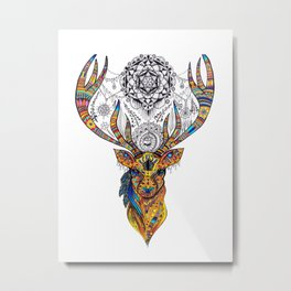 Elk: Spirit of Grace Metal Print