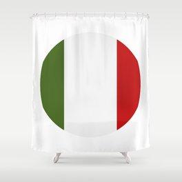 Italy flag Shower Curtain