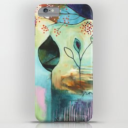 """Abundance"" Original Painting by Flora Bowley  iPhone Case"