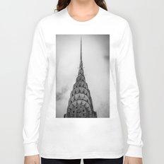 Chrysler Building New York USA Long Sleeve T-shirt