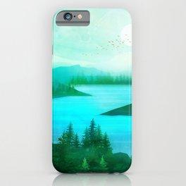 Lake Morning iPhone Case