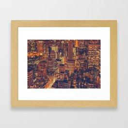 New York New York! Framed Art Print