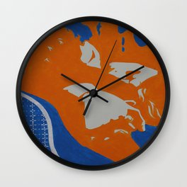 InterLock Wall Clock