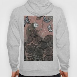 Night Garden (1) Hoody