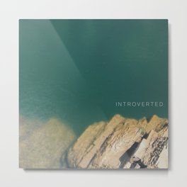 INTROVERTED [1:1] Metal Print