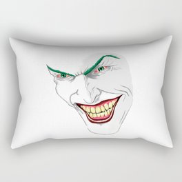 Let's Put a Smile on that Face Rectangular Pillow