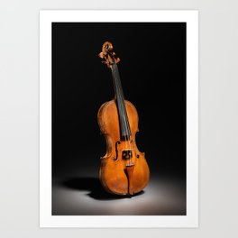 Historical Italian Cello Photograph (1560) Art Print