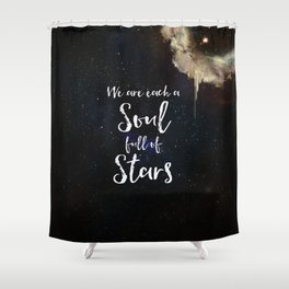 Soul Full of Stars Shower Curtain