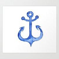 Dreaming of nautical adventure Art Print
