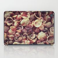 shells iPad Cases featuring Shells by HooVeHee