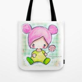 Baby Girl Pink Tote Bag