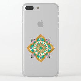Mandala Lima / Five / Fifth Clear iPhone Case