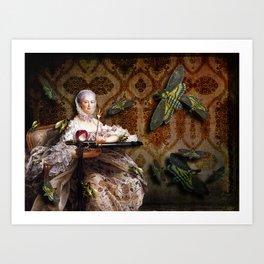 Madame de Pompadour's Passionate Affair Art Print