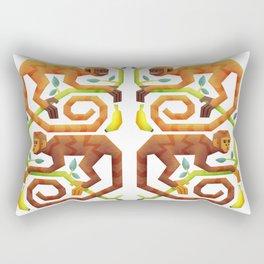 Monkeys Rectangular Pillow