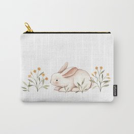 Blossom Bunny Carry-All Pouch