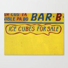CUBES 4 SALE Canvas Print