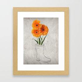Bootcamp Framed Art Print