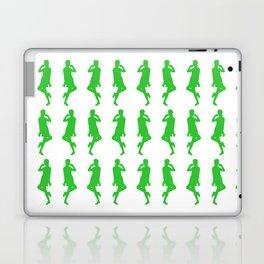 Green Bold Mod GoGo Girls Laptop & iPad Skin
