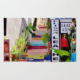 Colorful Stairs Rug