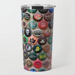 Beer & Ale Caps #3 Travel Mug