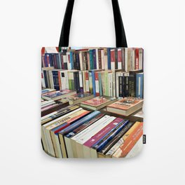 Sale of books on flea market Tote Bag