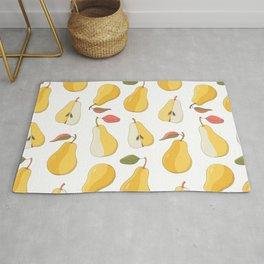 yellow pears Rug