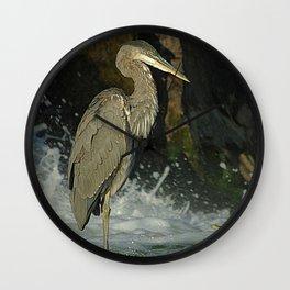 Heron & Cormorant Wall Clock