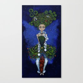 """""""Earth Girl"""" painting by Emma Gardner Canvas Print"""