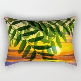 Acacia by the lake Rectangular Pillow