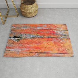 Weathered Wood Shutter rustic decor Rug