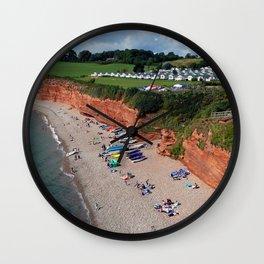 Ladram Bay Jurassic Coast Devon Wall Clock