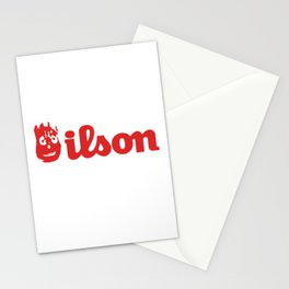 Wilson. Cast away on a deserted remote island Stationery Cards