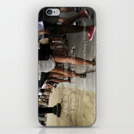 ...I swear we were infinite - The Perks of Being a Wallflower iPhone Skin