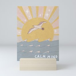 Calm mind Mini Art Print