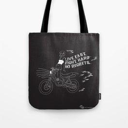 live fast Tote Bag