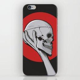 Skull Hamblet  iPhone Skin
