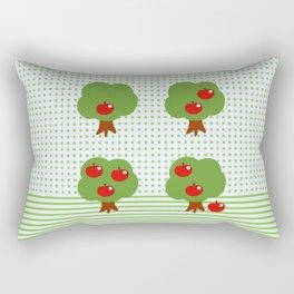 Newton's apples Rectangular Pillow