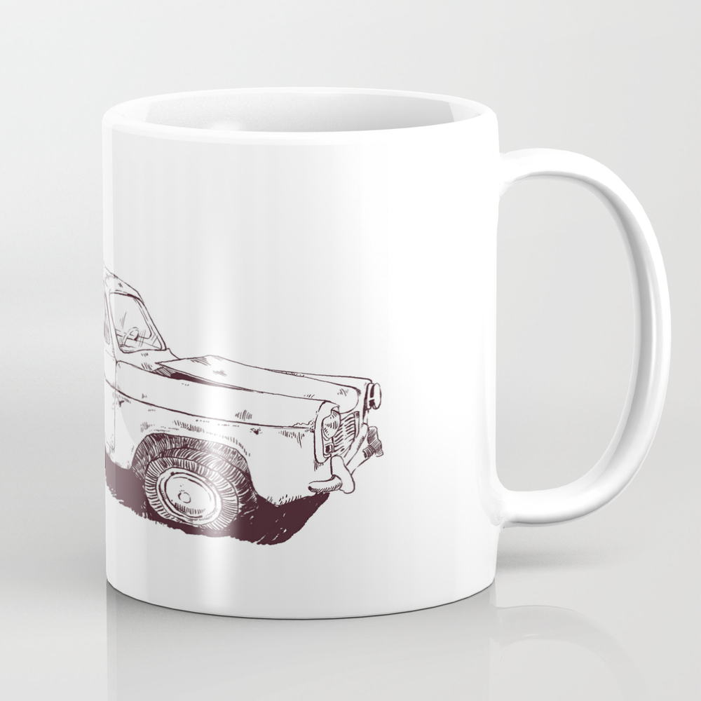 Old Car Coffee Cup by Dylanquinteroosorio MUG8732538