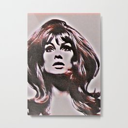 THAT FACE Metal Print