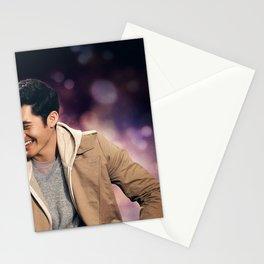 Movie Last Christmas Emilia Clarke Henry Golding Stationery Cards