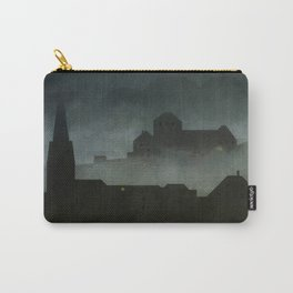 small town with castle Carry-All Pouch