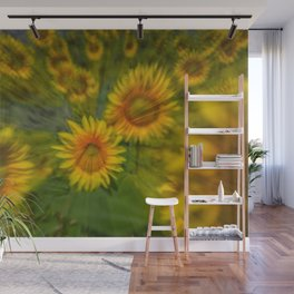 SUNFLOWERS 5 Wall Mural