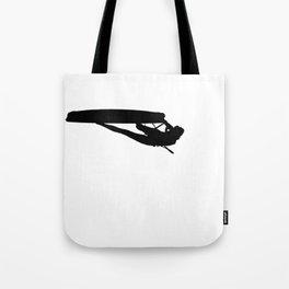 Freestyle At Kite Beach Kitesurfer Silhouette Tote Bag
