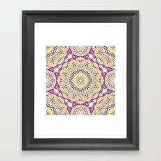 Mandala 28 Framed Art Print
