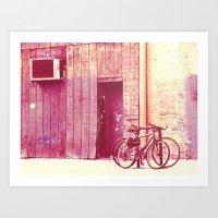 yowamushi pedal Art Prints featuring Pedal by Maite
