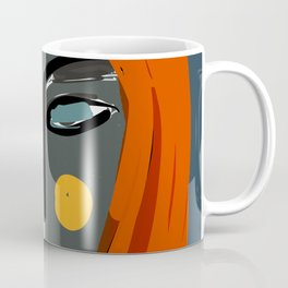 Mysterious Girl Portrait Stefania Style Art Coffee Mug