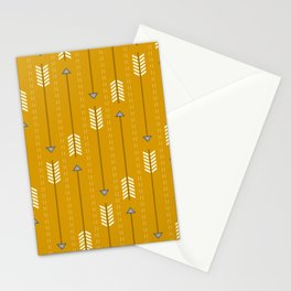 Arrows_Mustard Stationery Cards