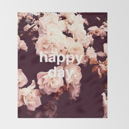 Happy Day Throw Blanket