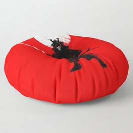 Ghost Samurai Floor Pillow