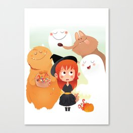 HALLOWEEN- trick ot treat? Canvas Print
